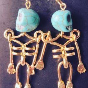 Jewelry - Halloween Skeleton Earrings